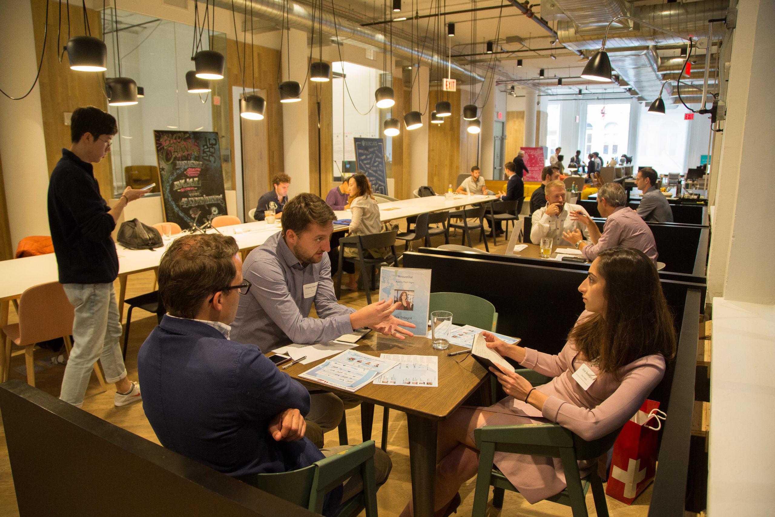 Advantage Austria Startup Pitch Night New York